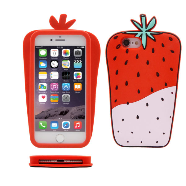 Custom 3D Silicone Mobile Phone Case